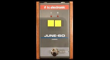 TC Electronic June-60 Chrous Effekt Pedal Front