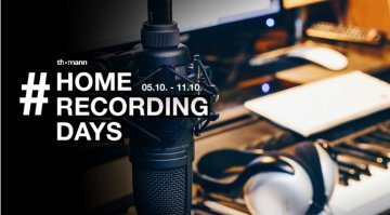 Thomann Home Recoring Days Teaser