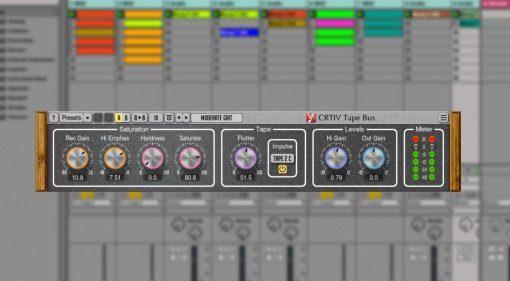 Voxengo CRTIV Tape Bus - virtuelle Bandmaschine für den PC