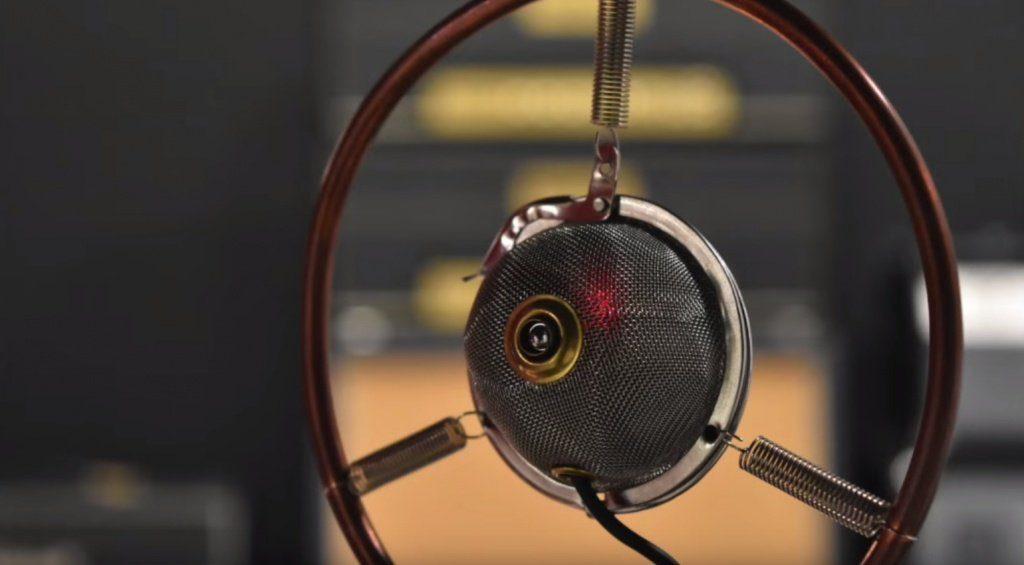 ZVEX TB-1 Tea Ball Mikrofon Front Close