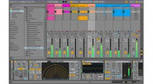 Ableton Live 10 Mixer Effects GUI