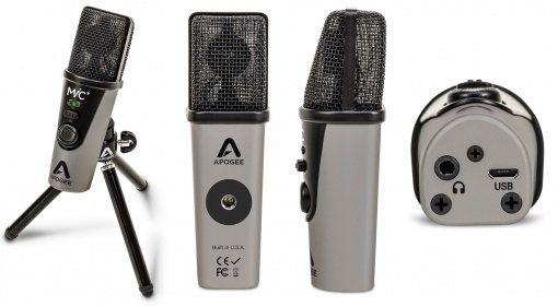 Apogee Mic Plus Mikrofon Front Seite Teaser