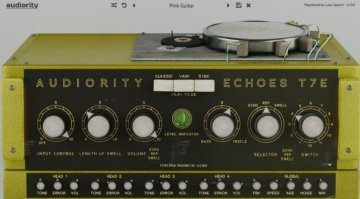 Audiority EchoesT7E GUI