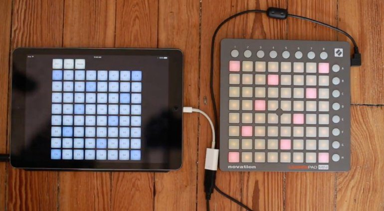 Decidedly GridInstrument - so wird dein iOS Device zum Pad Controller