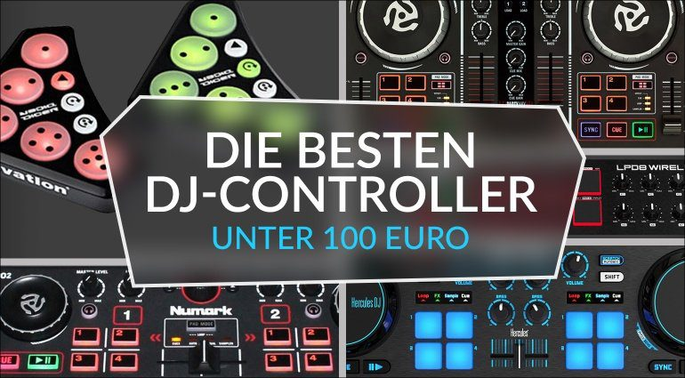 geschenktipp dj controller unter 100 euro. Black Bedroom Furniture Sets. Home Design Ideas