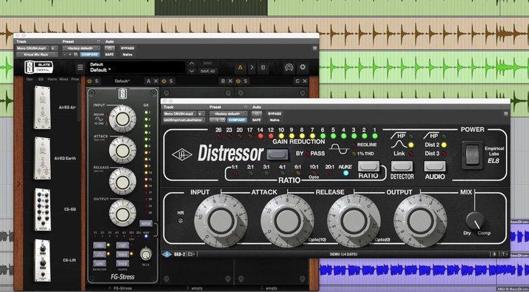 Distressor Shootout Slate UAD Hardware Teaser Pro Tools