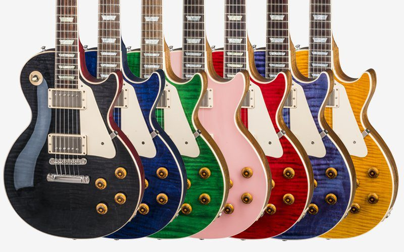 Gibson Custom Shop Modern Les Paul Standard Rainbow colours