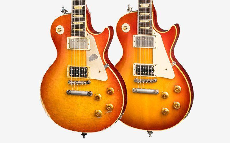 Gibson Les Paul Slash 1958 Vergleich