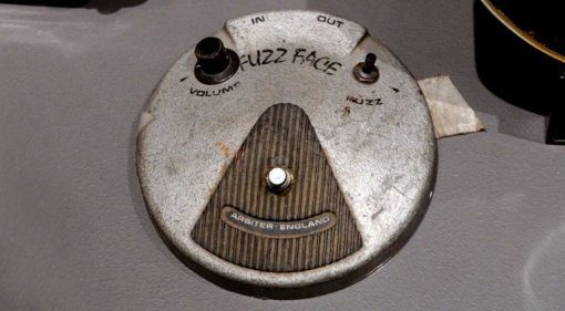 Jimi Hendrix Arbiter Fuzz Face at auction