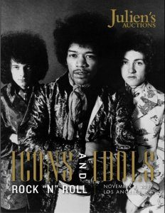 Juliens Auctions Hendrix Memorabilia