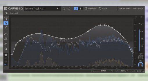 Kilohearts Carve EQ GUI Pro Tools Teaser