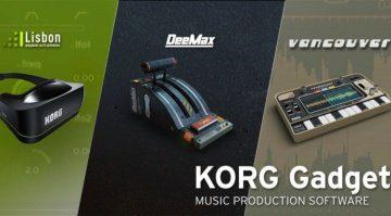 KORG Gadget bekommt Nachwuchs - Lisbon, DeeMax und Vancouver