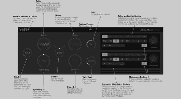 Living Memory Software FoldR - Wave Folding für iOS