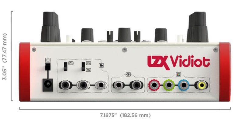 LZX Vidiot Rückseite