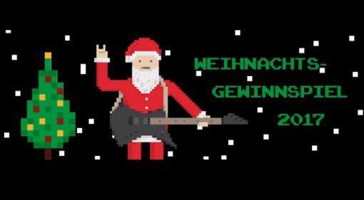 Musiker Board Weihnachts Gewinnspiel 2017 Teaser