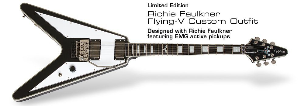 Epiphone Richie Faulkner Flying V Limited Edition