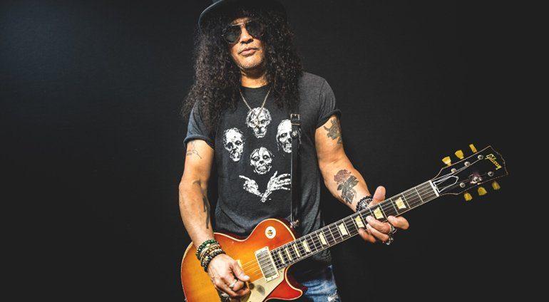 Slash and his 58 Les Paul Standard