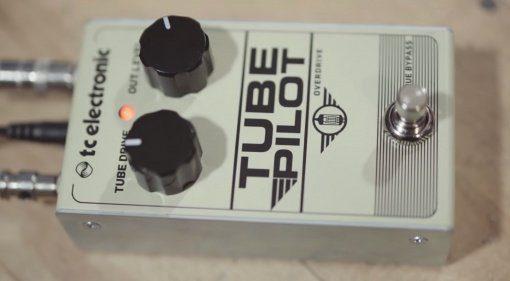TC Electronic Tube PIlot Pedal Overdrive Front