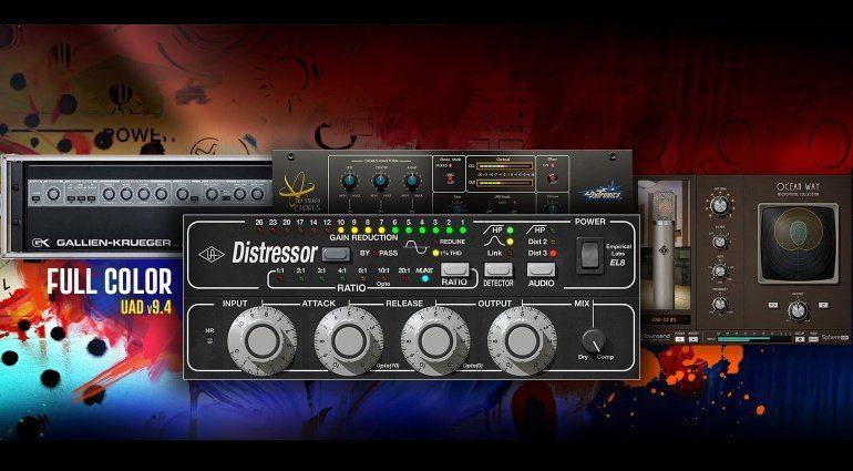 Universal Audio UAD 9.4 TEaser