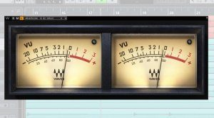 Waves VU Meter Plug-in GUI