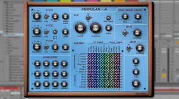 Yooz Modular-A - klassischer virtuell modularer Synthesizer