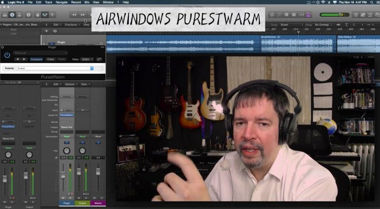 Airwindows verschenkt mit Purestwarm einseitige Wärme