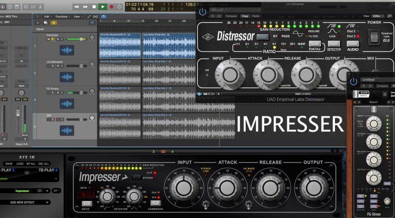 Antelope Audio veröffentlicht Impresser - ein weiterer EL Distressor?