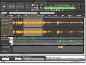 Audacity Freeware DAW Editor