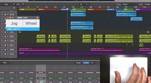 Das Apple Trackpad als Controller mit AudioSwift