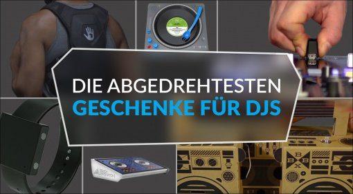 Die abgedrehtesten Geschenke für DJs