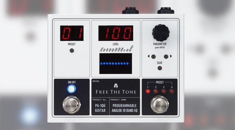 Free The Tone PA-1Q Effekt Pedal Front
