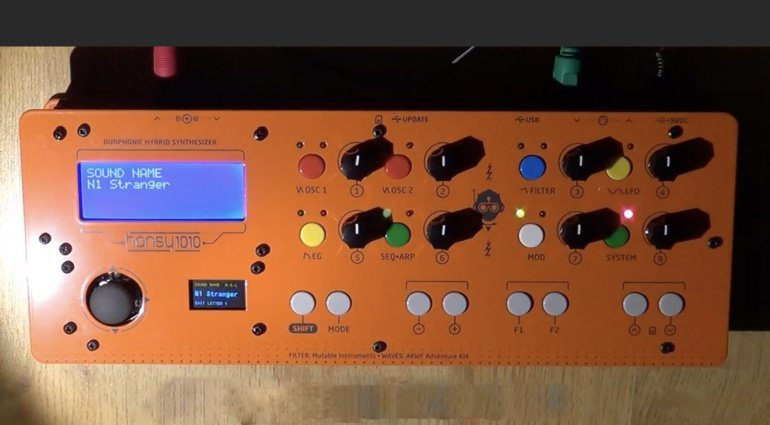 Hansy 1010 Synthesizer