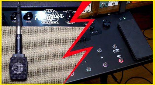 Line6 Helix vs Mesa Boogie Blue Angel Dual REctifier Teaser