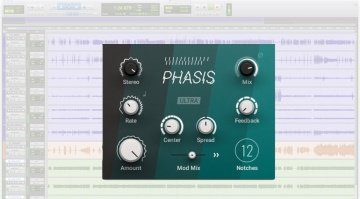 Native Instruments Phasis Freeware Plug-in GUI