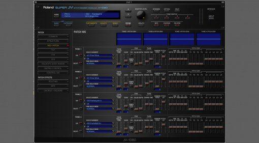 Roland Cloud JV-1080