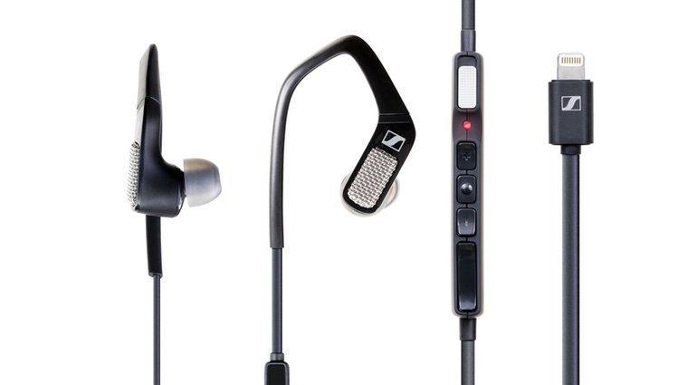 Sennheiser Apogee Ambeo Smart HEadset Black Front Binaural Recording