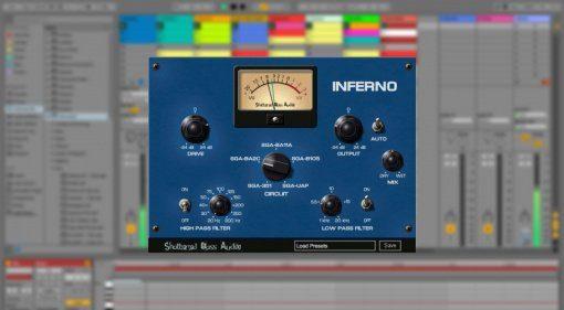Shattered Glass Audio Inferno - analoge Schaltkreise in virtuell