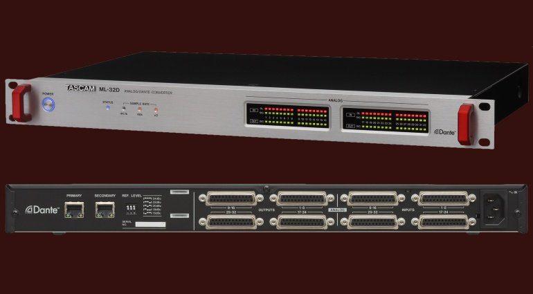 Tascam ML-32D Font Backv