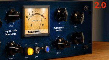 Tegeler Audio Manufaktur Schwerkraftmaschine Vari Mu Compressor Firmware Update 2.0 Teaser