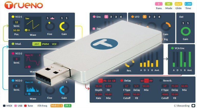 WS Audio Limited Trueno - der kleinste Synthesizer der Welt?