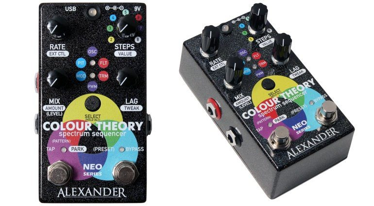 Alexander Pedals Colour Theory Front