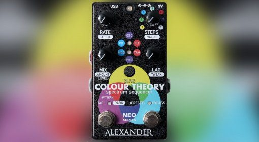 Alexander Pedals Colour Theory Teaser