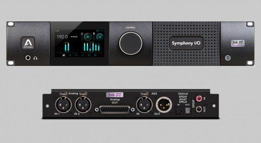 NAMM 2018: Apogee Symphony I/O Mk II 2x6 SE vorgestellt