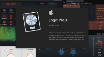 Apple Logic Pro X 10.4