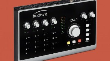 Audient ID44 Teaser Interface