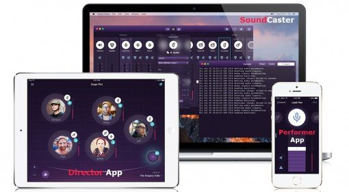 AudioFusion SoundCaster IEM App NAMM Teaser