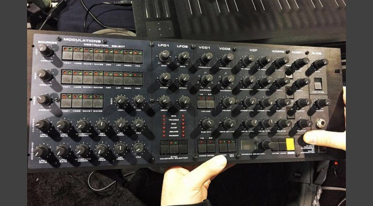 Black Corporation Synth