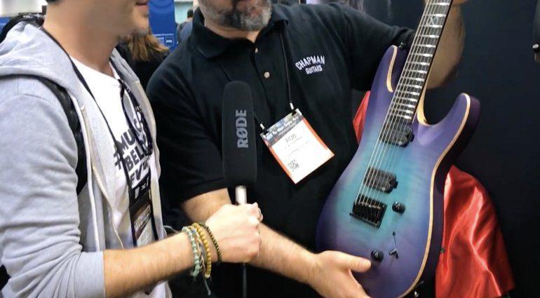 Chapman Guitars 7-String Unicorn-Burst