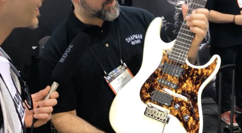 Chapman Guitars 2018er CAP-10