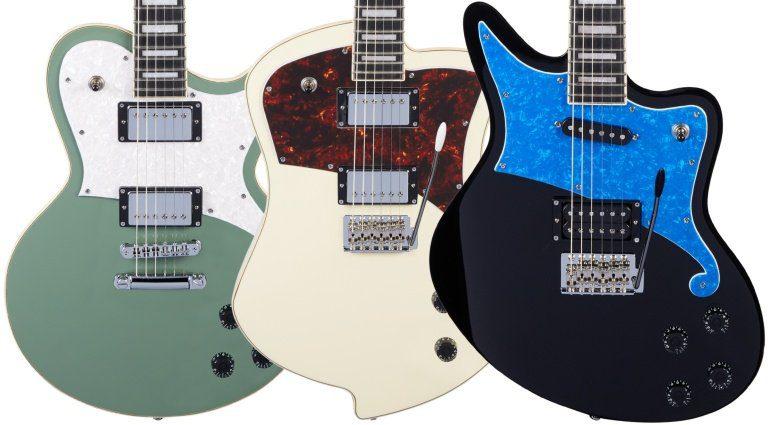 D'Angelico Ludlow Atlantic Bedford E-Gitarre Front